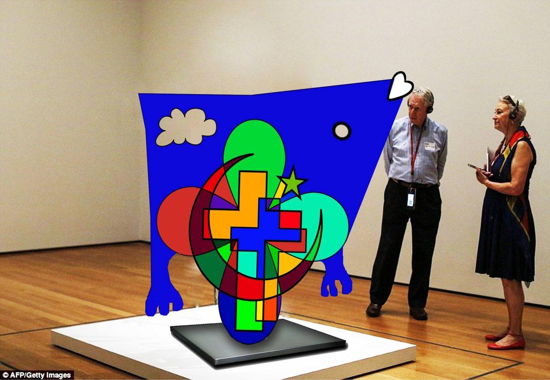 Chrislam sculpture